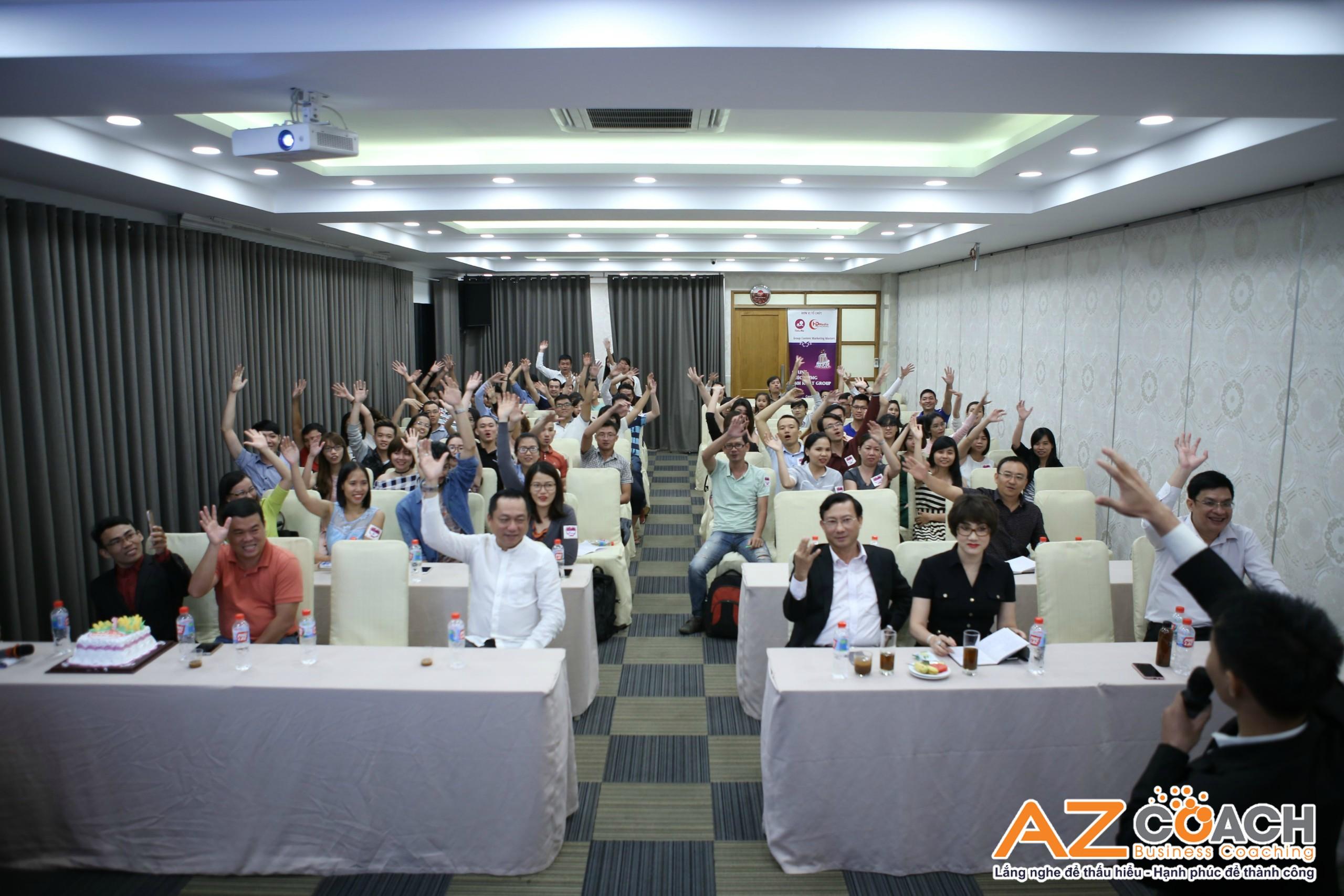báo nói về khóa đào tạo của AZ COACH