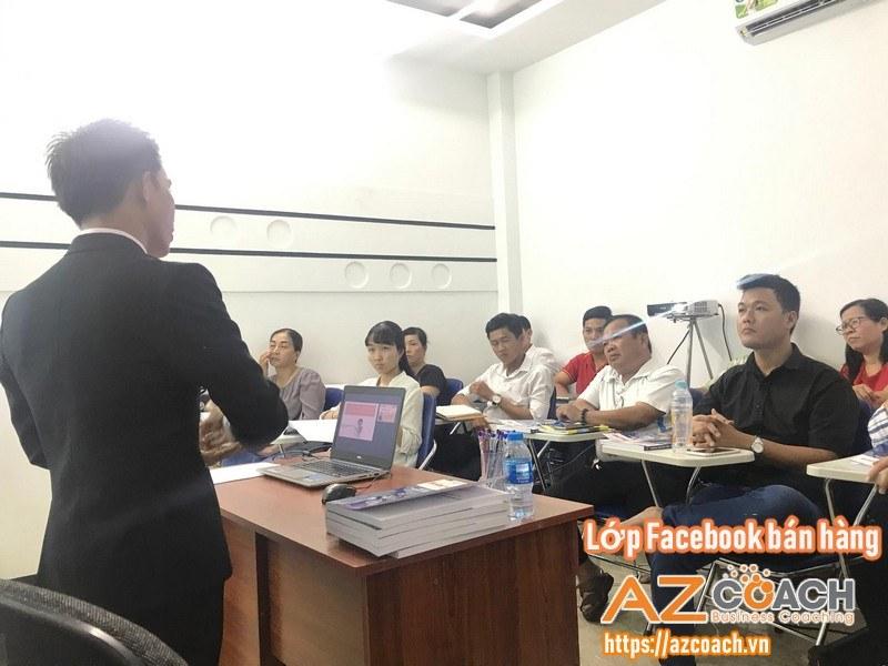 Chuyên gia AZ COACH hướng dẫn kỹ năng bán hàng
