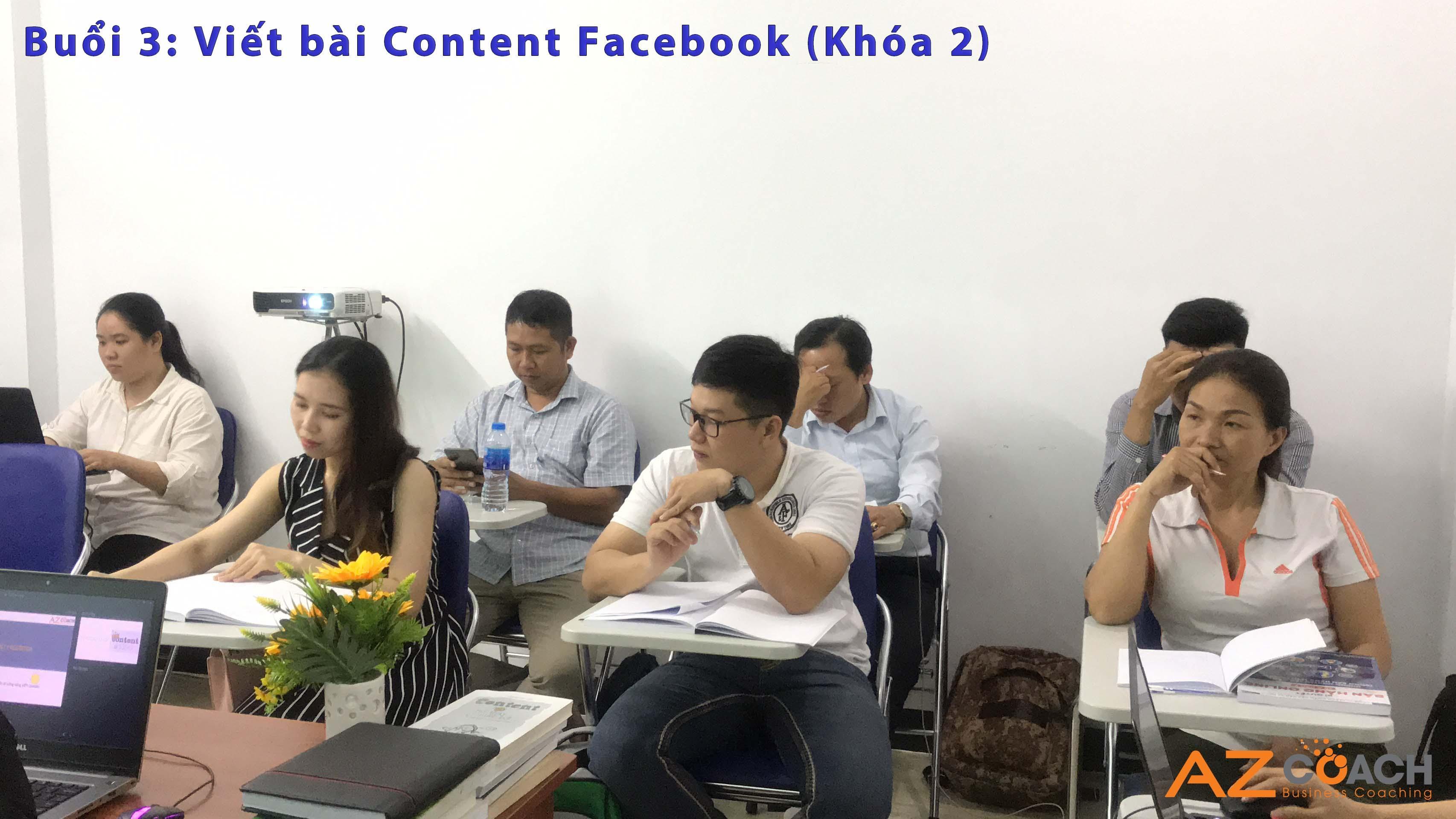 Buổi học thứ 3 Content trên facebook