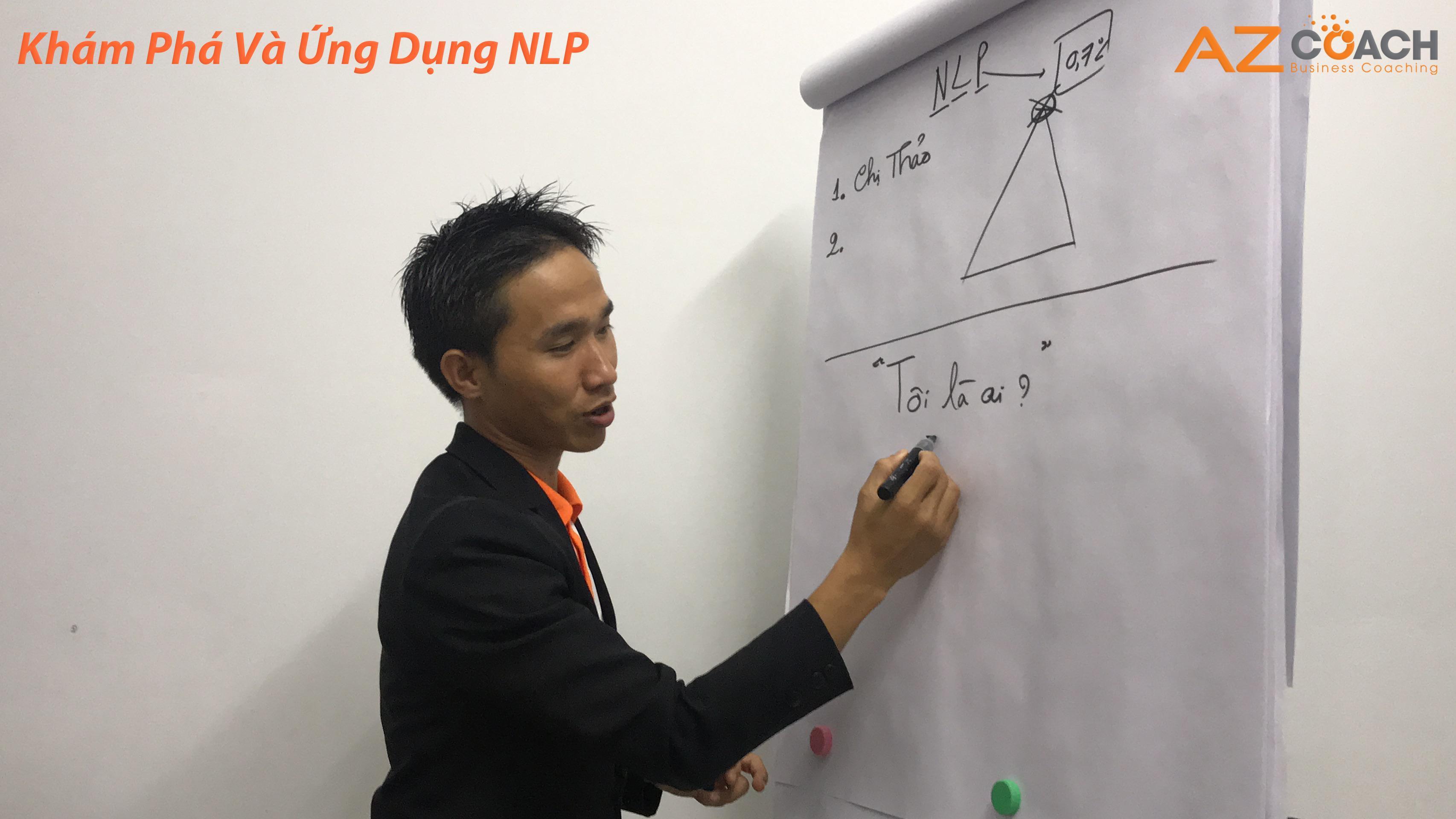 lớp học khám phá và ứng dụng NLP của AZ COACH