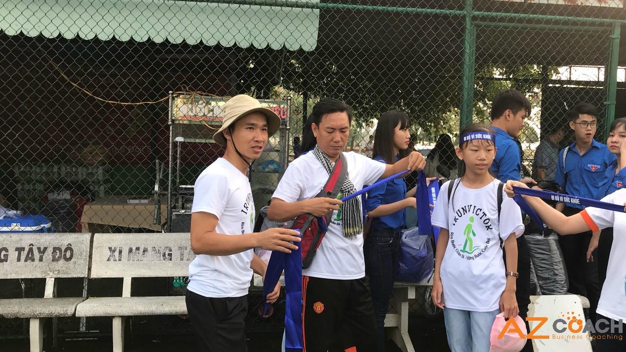 cuộc thi đi bộ vì sức khỏe